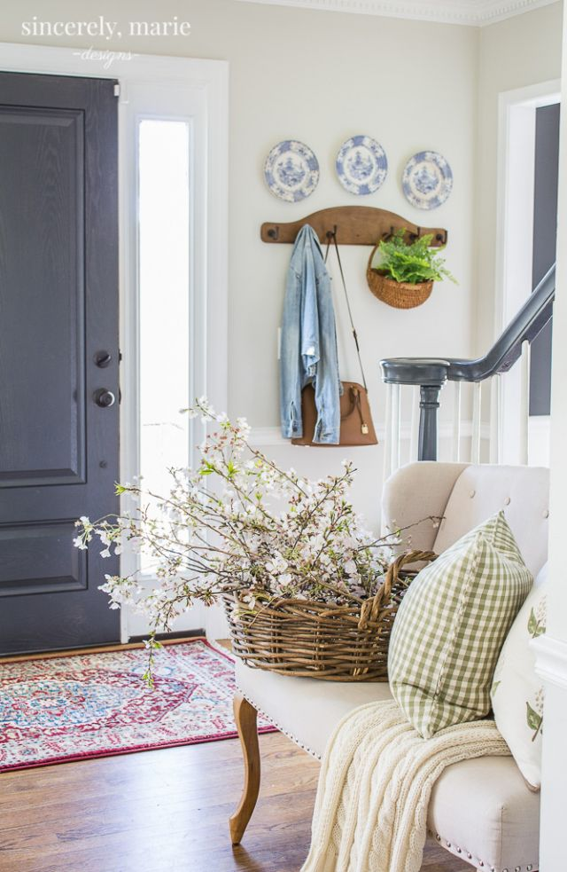 Photo of Fresh & Classic Spring Home Tour – Sincerely, Marie Designs