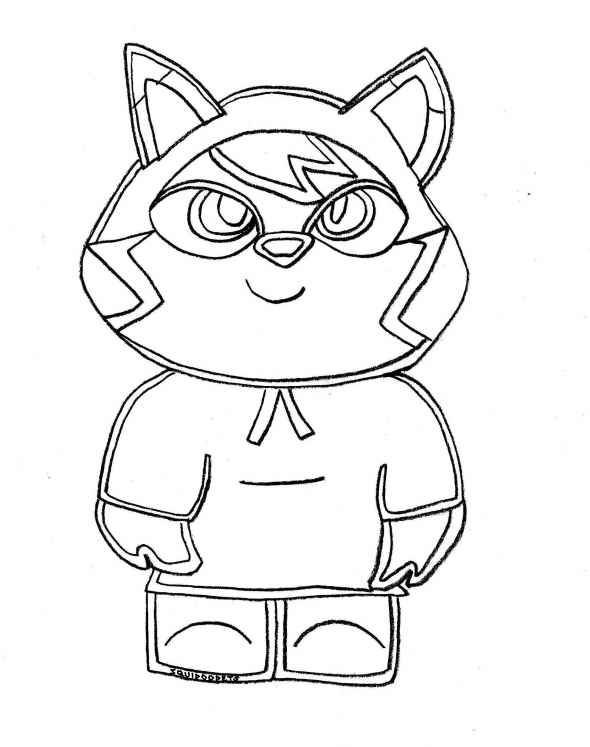 Free Printable Moshi Monster Coloring Pages For Kids | Pinterest