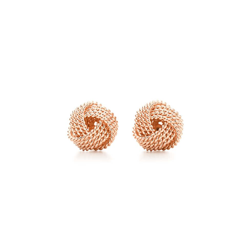 94c6643f6 Tiffany Twist:Knot Earrings | My Style | Fashion, Fashion outfits ...