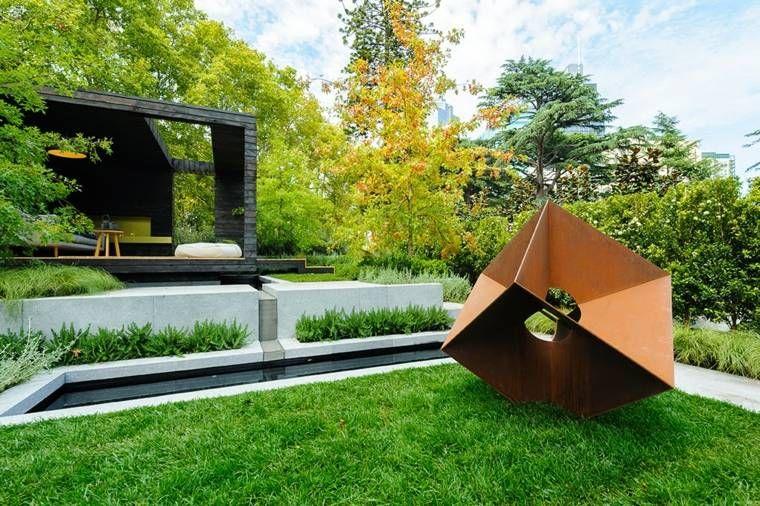 Corten Steel: 50 Very Trendy Garden Decor Ideas | Corten steel ...