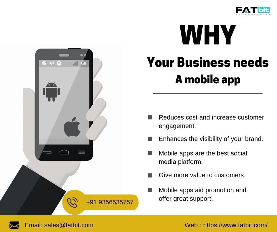 FATbit Technologies is the best mobile app development