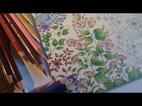 Daily Tutorial Day 1 Layering And Shading Youtube Secret Garden Coloring Book Secret Garden Colouring Coloring Books