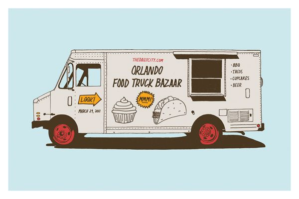 30 Food Truck Design Inspirations That Make Hungry