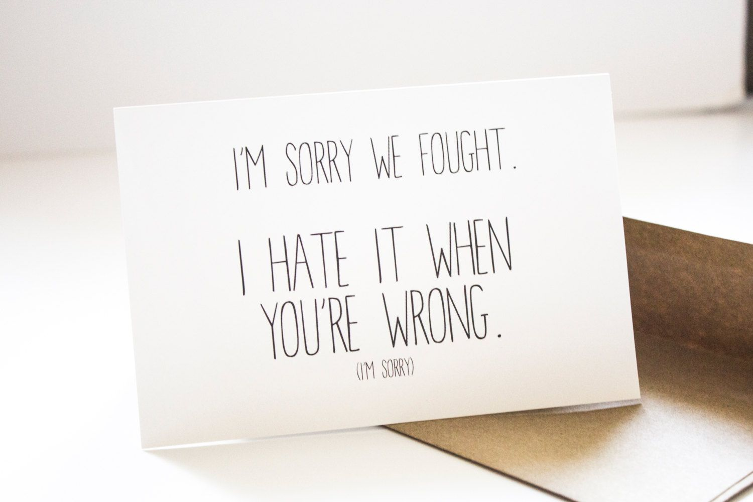 Apology Cards, Sorry Cards, Funny Apology Card, Iu0027m Sorry Card,  Apology Card Messages