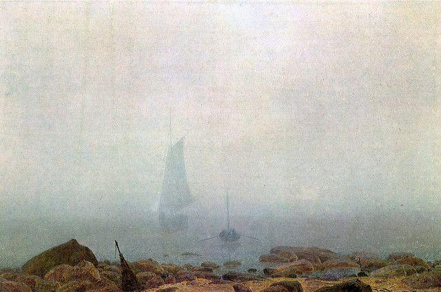 Caspar David Friedrich  fog - 1807
