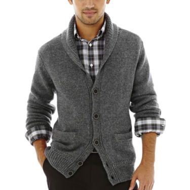 202a0ca47 Dockers® Dockers Shawl Collar Cardigan Sweater - JCPenney