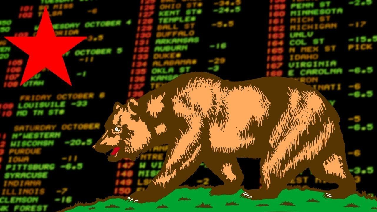 California Sports Betting Proposal Sports betting