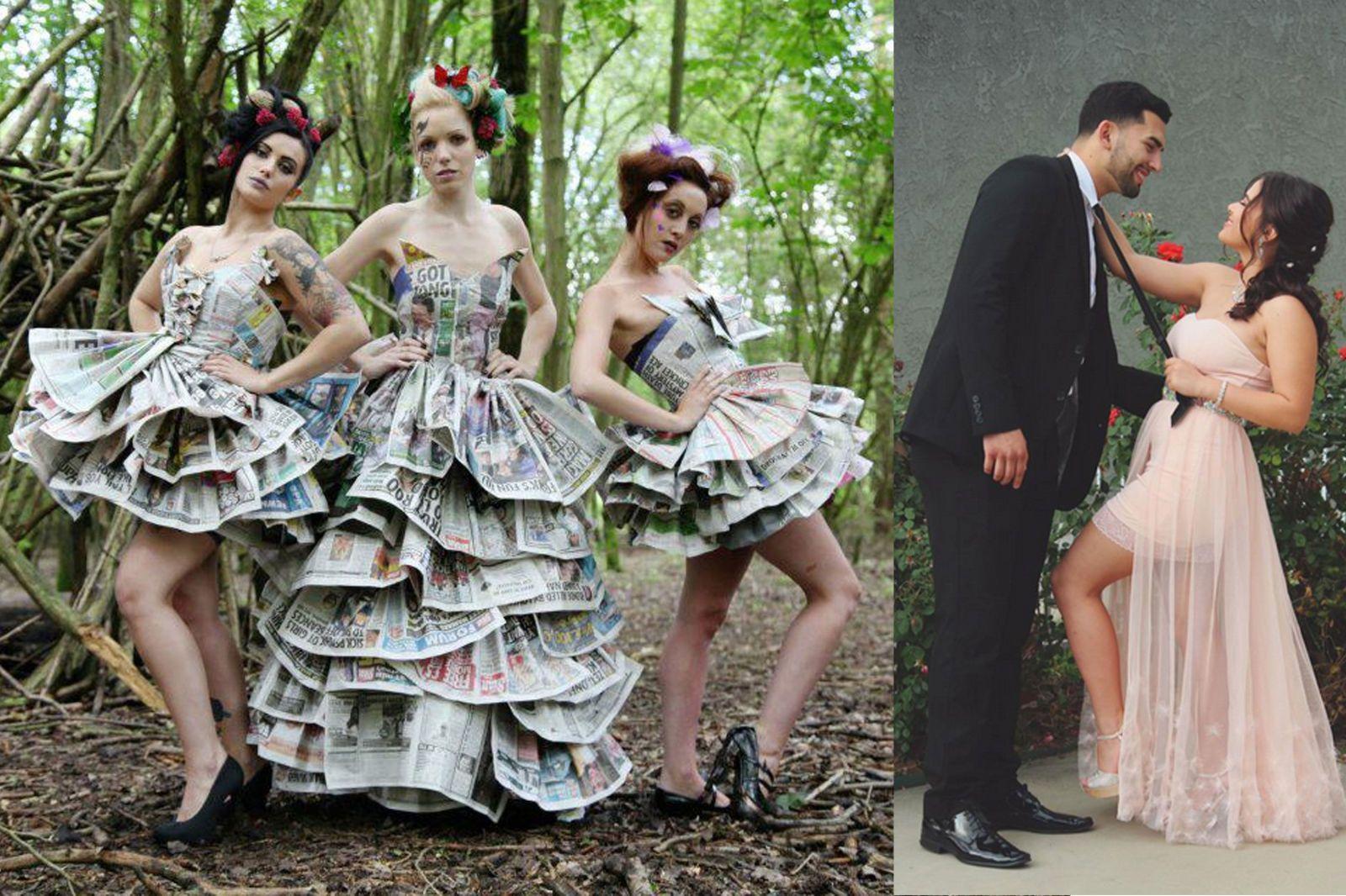 Großartig Recycled Prom Dresses Bilder - Brautkleider Ideen ...