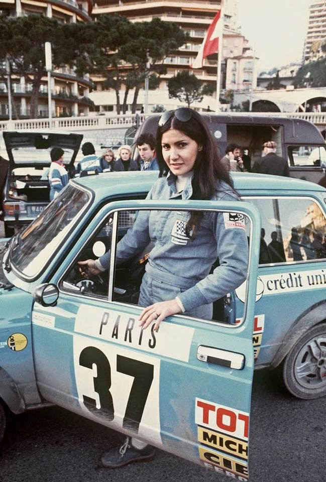 Fast Lady Michele Mouton , sad to not have more fast woman on top ...
