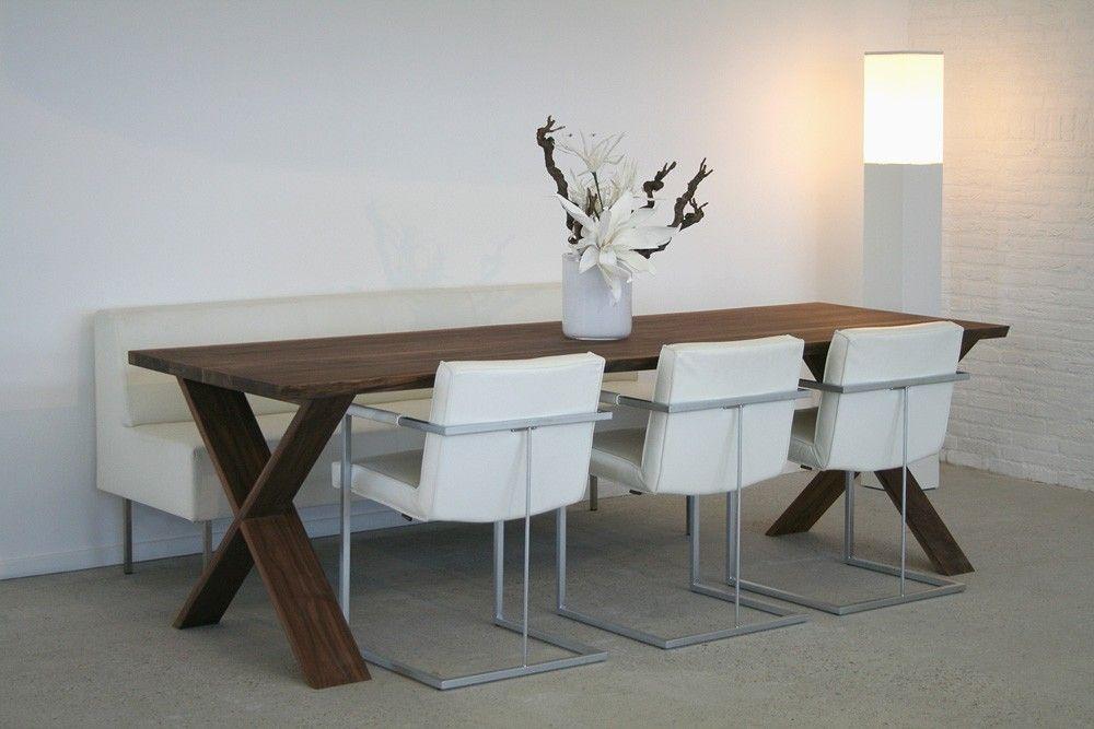 Factor tafel massief Amerikaans noten - Designsalesnl Interieur - tafel für küche