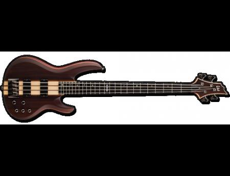 Esp Ltd B4e Bass Guitar 4str Ebony Top Neck Thru Bass Nz Rockshop Guitar Bass Bass Guitar