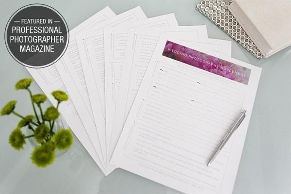 Complete Legal Wedding Contract - Design Aglow - 1 Life through - wedding contract
