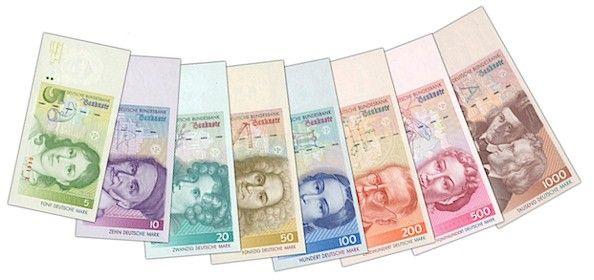 Deutsche Mark. Die gute alte DMark (abgekürzt DM) war von