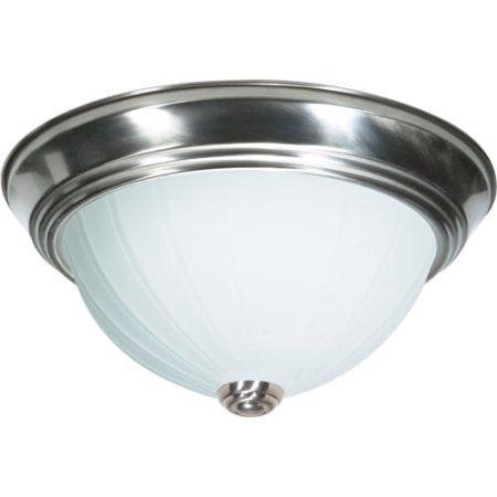 nuvo lighting ceiling fixtures indoor lighting flush mount brushed nickel silver - Nuvo Lighting