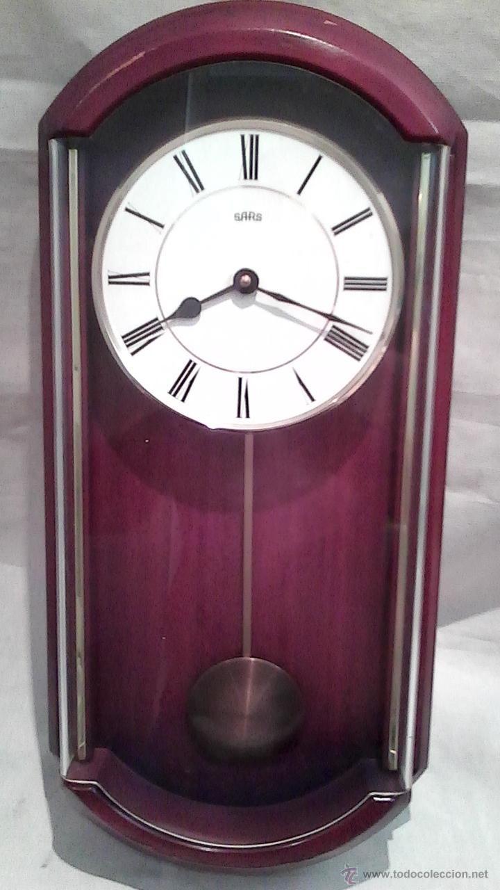 Reloj De Pared Sars Reloj De Pared Tipo Regulador Maquinaria Alemana De Cuarzo Pila Reloj De Péndulo Relojes De Pared Relojes Antiguos