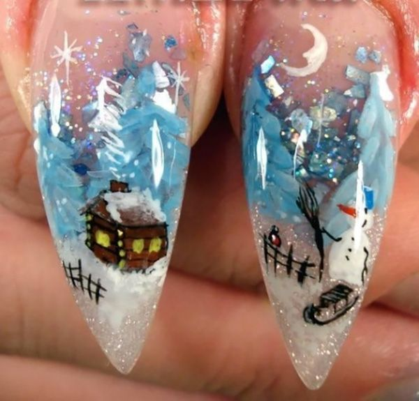 Finding Brilliant Christmas Nail Art Designs to Get Into the Holiday Mood - Finding Brilliant Christmas Nail Art Designs To Get Into The Holiday