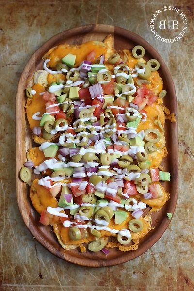 Busy in Brooklyn » Blog Archive » Passover Nachos with Homemade Plantain Chips