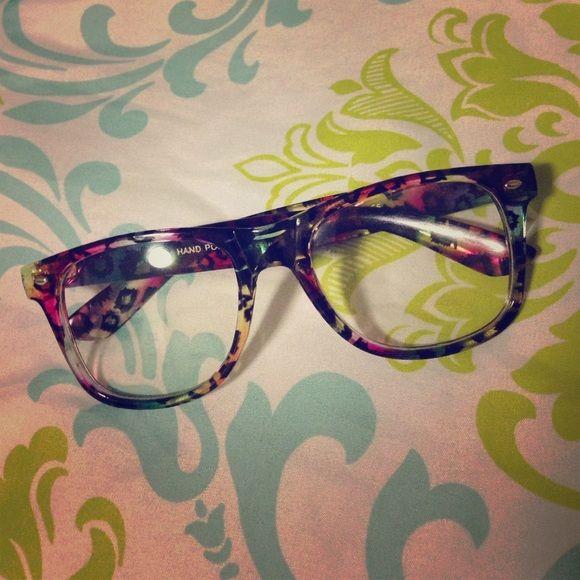 Cheetah Vanity Glasses Claire S Accessories Glasses Glasses