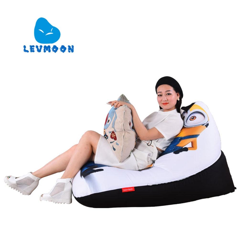 Big joe zip modular armless chair at brookstone buy now -  39 60 Buy Here Levmoon Beanbag Sofa Chair Yellow People Seat Zac Comfort