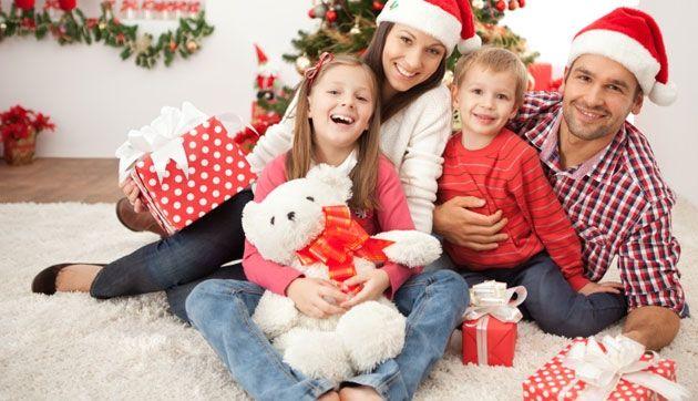 Professional Family Christmas Photos