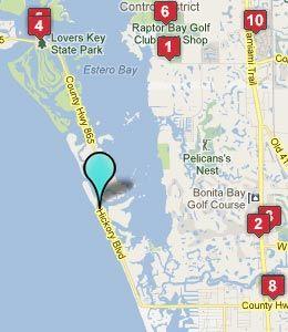Map Bonita Beach Fl Hotels Jpg 260 300 Pixels