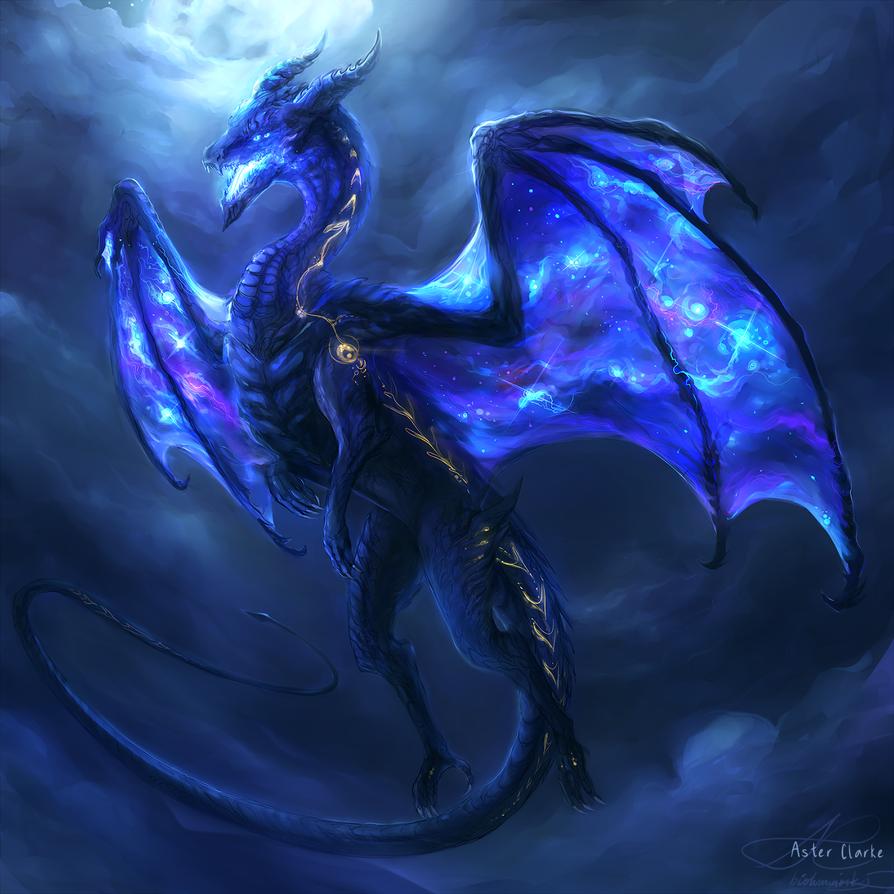 Samyaza by biolumi on DeviantArt Dragon artwork