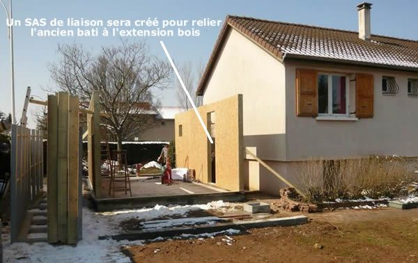 Super Extension bois avec SAS de liaison | Extension | Pinterest  XB31