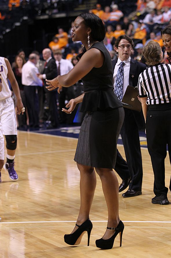 High heeled affair for SEC coaches | fullcourt.com ...