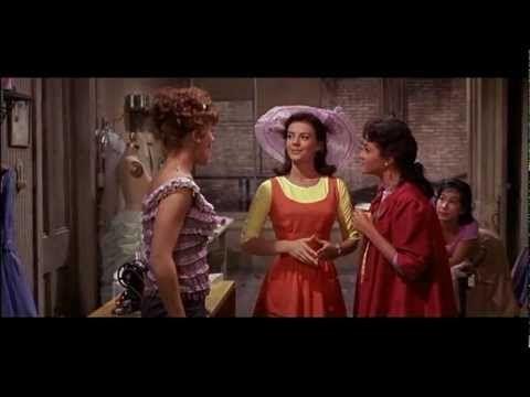 Natalie as Maria in West Side Story (1961) #orange