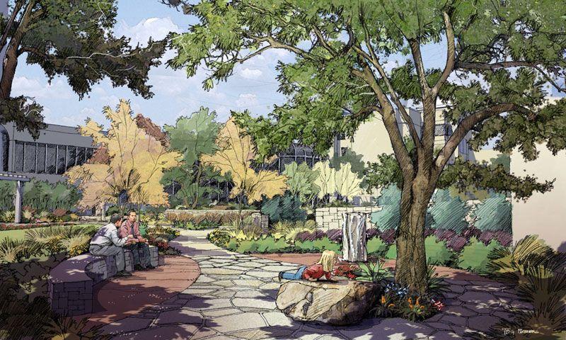 Brackenridge Tranquility Garden Austin, TX TBG