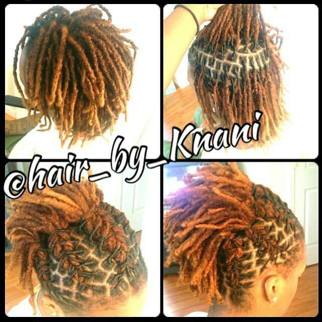 pretty simple updo natural hair