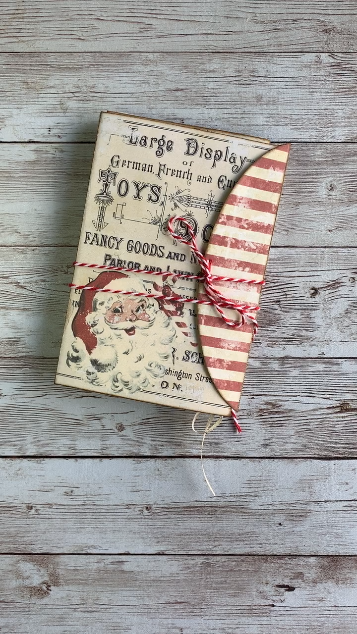 Christmas Folio Junk Journal Kit from My Porch Prints #sideporch