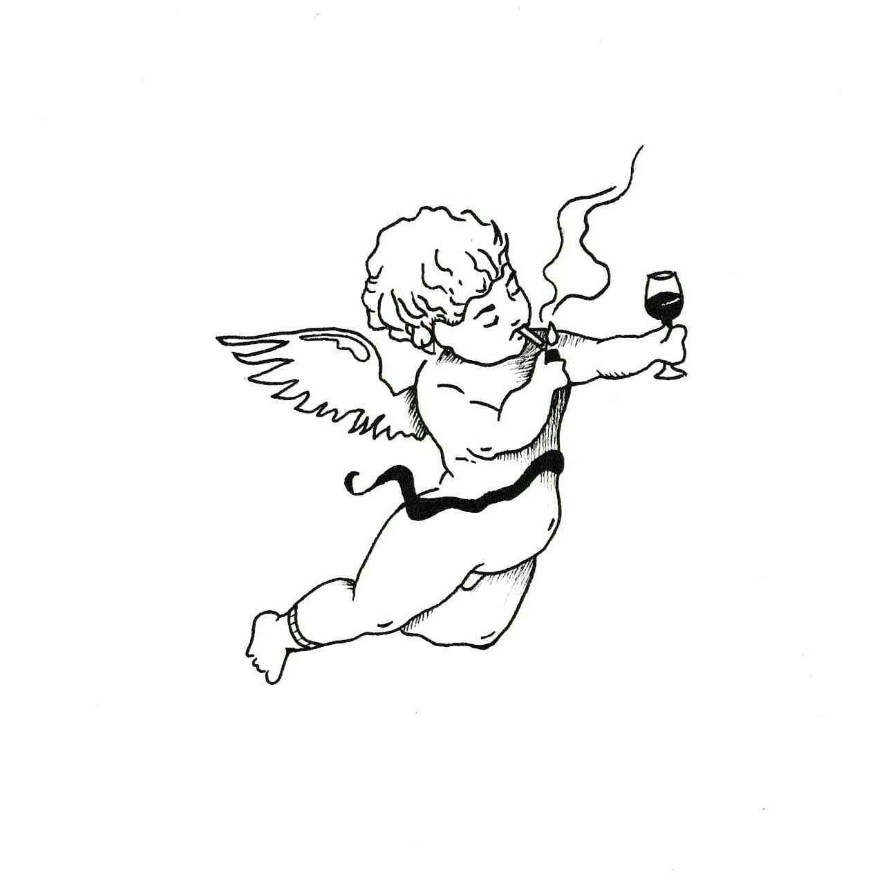 Cupid Angel Tattoo, #Angel #Cupid #Tattoo