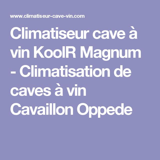 Climatiseur Cave A Vin Koolr Magnum Climatisation De Caves A Vin