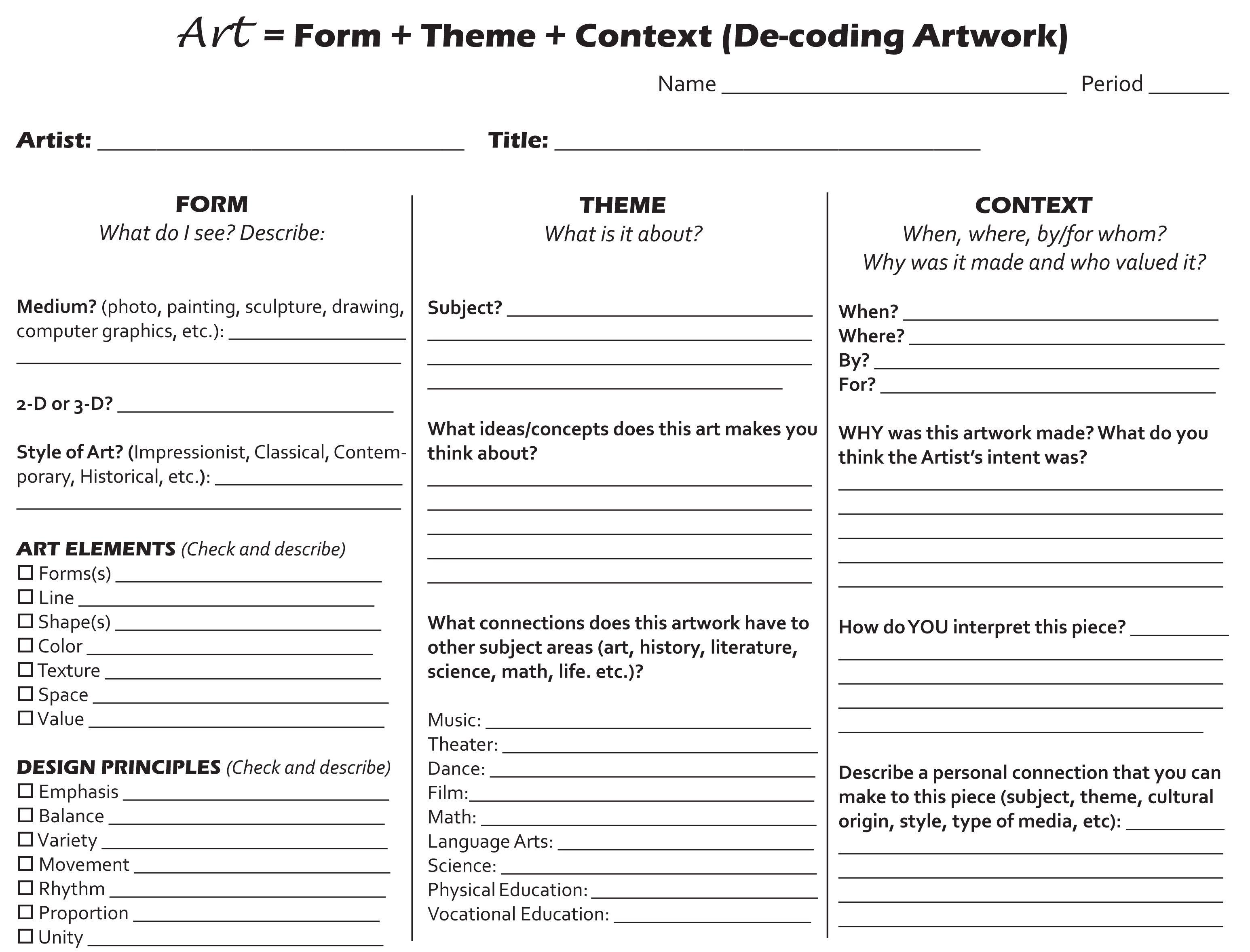 Form Theme Context Palette