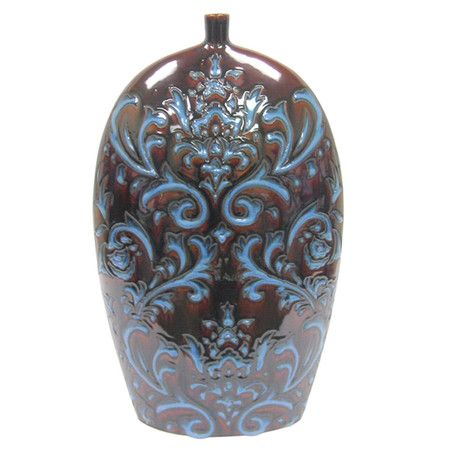 I pinned this Margaret Vase from the Firefly Home event at Joss and Main! Create an eye-catching vignette in your living room, foyer, or bedroom with this artisan-chic design.