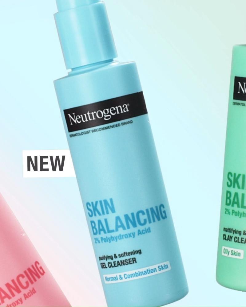 Neutrogena® Skin Balancing Cleansers