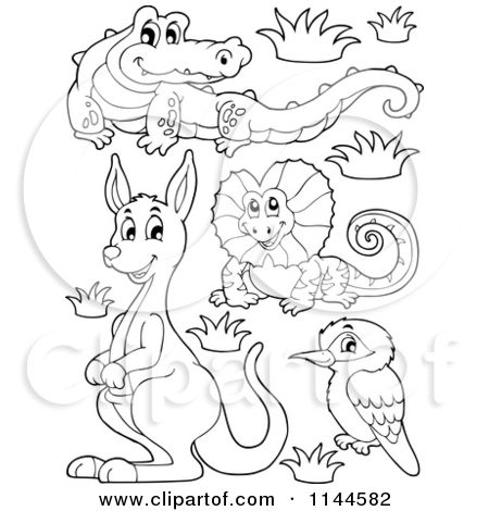 christmas in australia coloring pages - photo#22