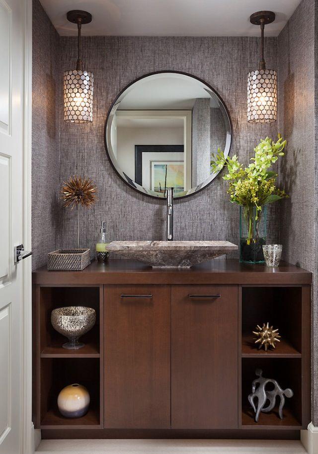 Marvelous Powder Room Half Bath Love The Light Fixtures And Their Download Free Architecture Designs Ferenbritishbridgeorg