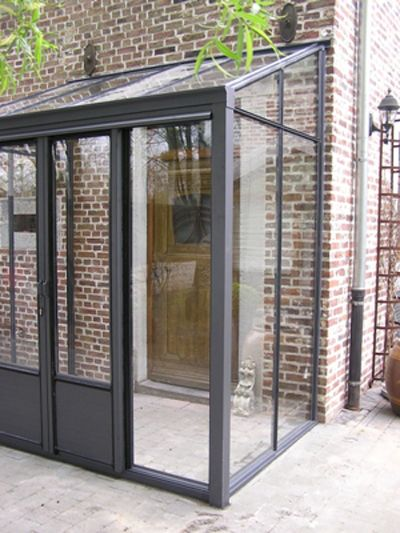 windfang vordach eingangsbereich stahl glas anthrazit klinker rotklinker backstein. Black Bedroom Furniture Sets. Home Design Ideas