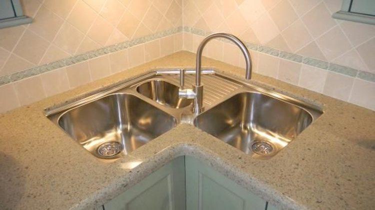 20 Different Types Of Sink Styles To Consider Corner Sink Kitchen Farmhouse Sink Kitchen Kohler Kitchen Faucet