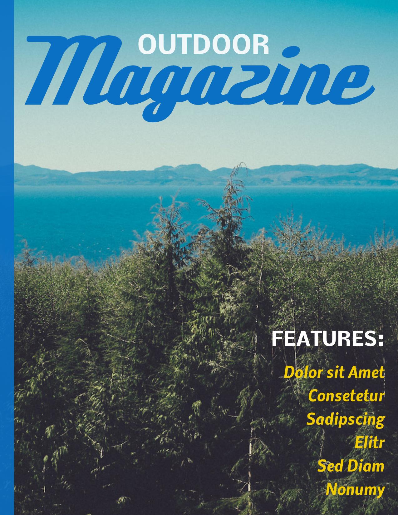 free magazine cover maker online newsletter templates pinterest