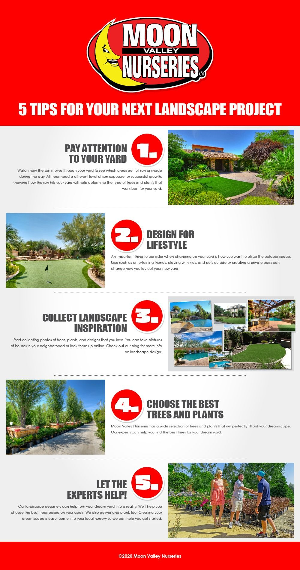 5 Tips For Your Next Landscape Project