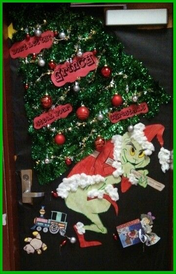 The Grinch That Stole Christmas Door Contest By Yours