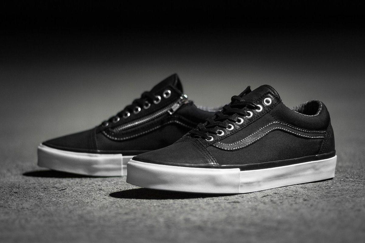 a358ee745103 Highs And Lows x Vans Vault Old Skool Zip LX   Sk8-Hi LX - EU Kicks   Sneaker…