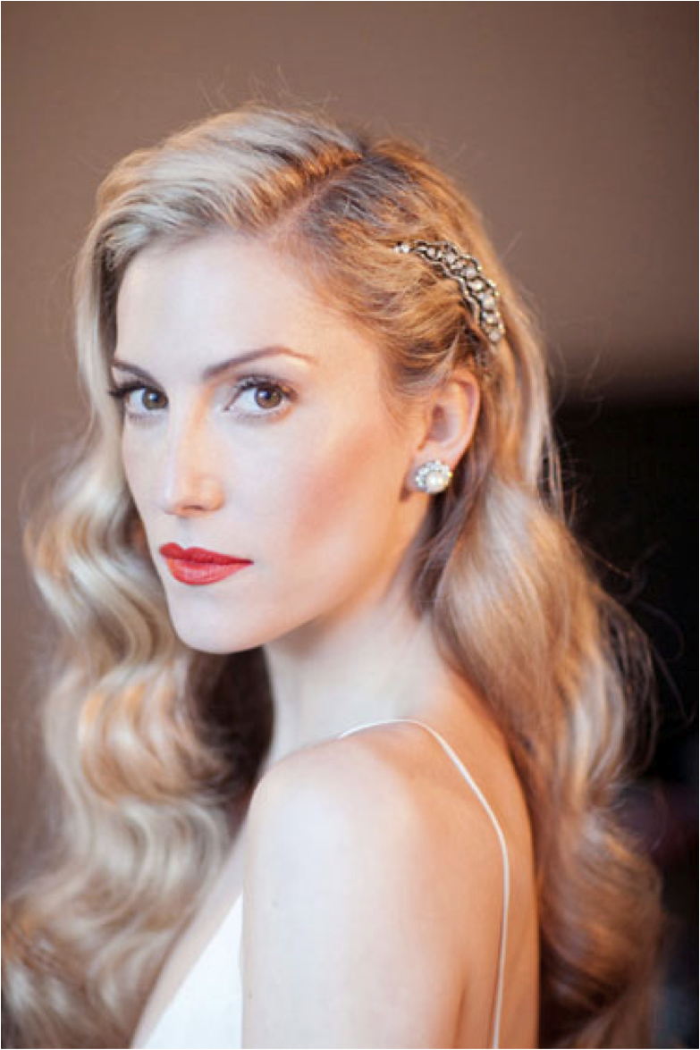 Old Hollywood Glamour Hair Makeup