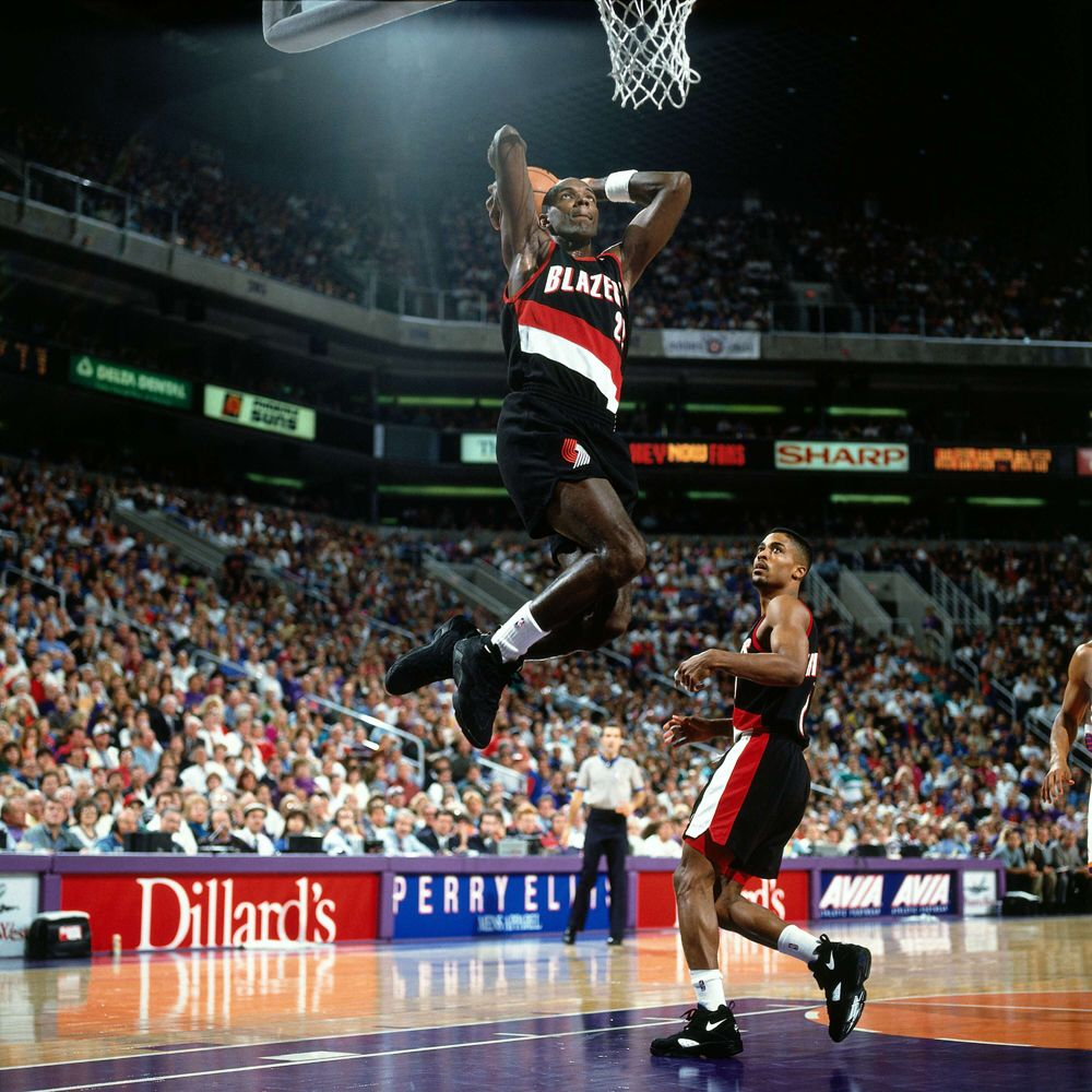 Clyde Drexler Portland Trail Blazers 1983 1995