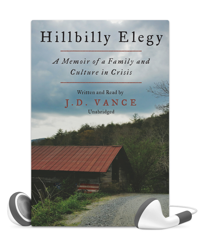 Libro Fm Hillbilly Elegy Featured Audiobook Read By The Author Fascinating Use Promo Coupon Randomacts16 For Addi Hillbilly Elegy Elegy Nonfiction Books