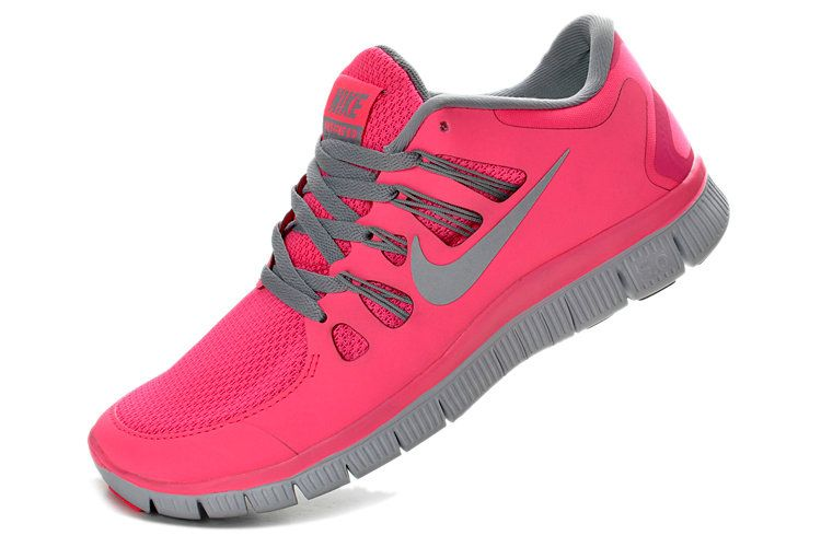info for 983a9 83792 Nike Free 5.0+ Womens New Pink Force Wolf Grey Pure Platinum 580591 600