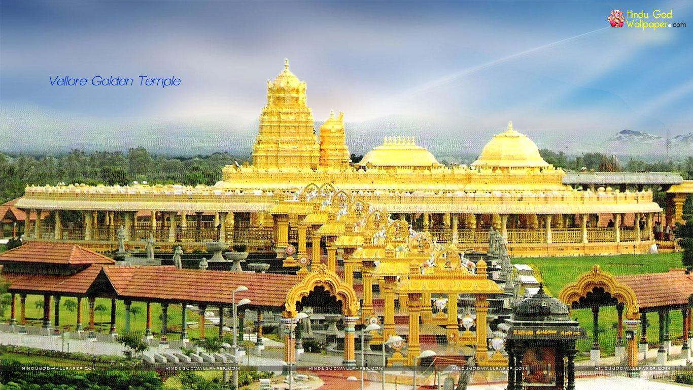 Vellore golden temple wallpapers free download temples - Golden temple images hd download ...